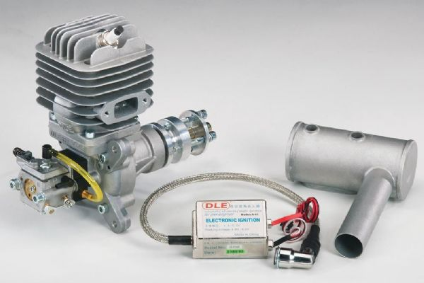 DLE-55 - DLE55 Two-Stroke Petrol Engine